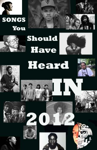 Top Songs You Should Have Heard In 2012!